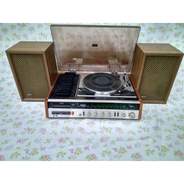 SONY, pikap, kaseta, radiofono