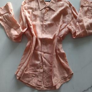 Λινό ανδρικό πουκάμισο
