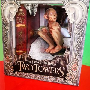 THE LORD OF THE RINGS THE TWO TOWERS EXTENDED DVD EDITION (GOLLUM STATUE)-ΕΛΛΗΝΙΚΟΙ ΥΠΟΤΙΤΛΟΙ
