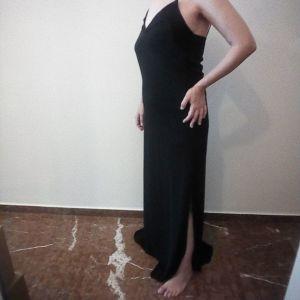 Φόρεμα μάξι, μαύρο.