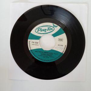 """Σταύρος Ζούμπας -  Ένα Πουλί Πικρολαλεί / Ξύπνησα Τα Μεσάνυχτα ( Vinyl, 7"""", 45 RPM, Single)"""