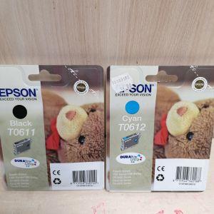 EPSON T0611+T0612