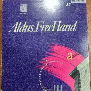 Aldus FreeHand Έκδοση 2.0(1990) για Apple Macintosh