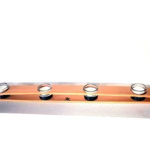 μεγαλο ξυλινο (χειροποιητο) κηροπηγιο (80cm)