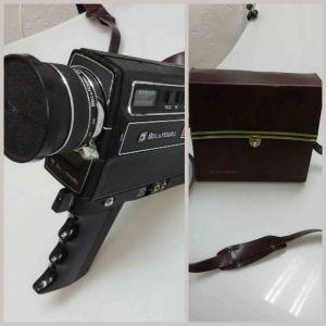 Παλιά βιντεοκάμερα με θήκη - τσάντα