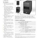 Επαγγελματικά Ηχεία JBL MP255S SubWoofer Dual Woofer 15'' 2000Watts