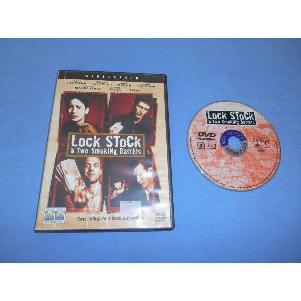 dio kapnismenes kanes / LOCK STOCK AND TWO SMOKING BARRELS - DVD