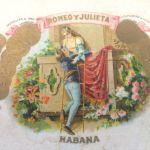Ένα άδειο κουτί από πούρα.Κούβα -72 α έτος
