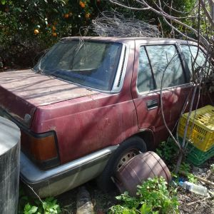 Honda Civic Sedan 1985 για ανταλλακτικά, χωρίς μεταβίβαση