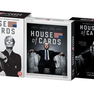 House Of Cards Seasons 1+2 Blu-ray