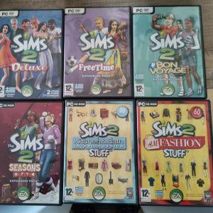 PC Games Sims 2 Sims 3