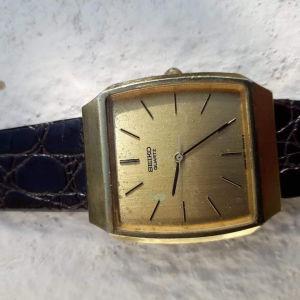 Ρολόι χεριού ανδρικό SEIKO συλλεκτικό ετών άνω των 50!Πάρα πολύ καλή εξωτερική και εσωτερική εμφάνιση!