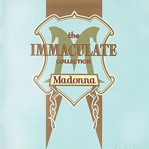 """MADONNA""""THE IMMACULATE COLLECTION"""" - CD"""