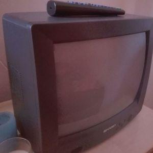 Τηλεόραση Sharp μικρή vintage