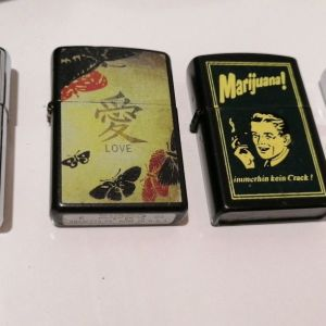Zippo, αναπτήρες συλλογή vintage