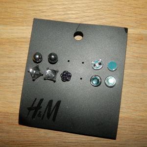 ολοκαινουργια σκουλαρικια h&m
