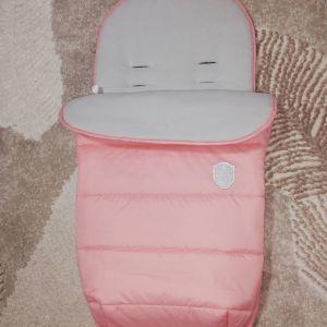 Ποδοσακος για ολα τα καροτσια Kikka Boo Footmuff Baby Pink