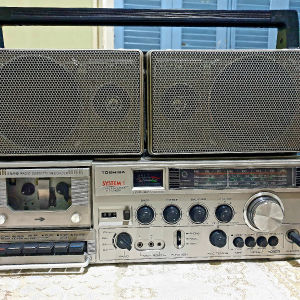 Toshiba Stereo Radio Cassette Recorder