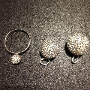Σετ κοσμημάτων ασημί 925 με κρύσταλλα Swarovski
