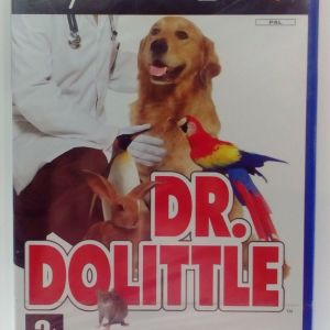 DR. DOLITTLE PS2 PLAYSTATION 2 TWO EUROPEAN PAL BRAND NEW & SEALED