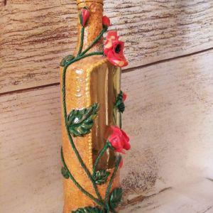 Διακοσμητικό μπουκάλι για ποτο 3D.