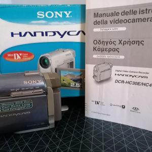 Sony DCR-HC30 MiniDv Digital Handycam Camrecoder and Iamge 10x optical zoom 120x Digital zoom