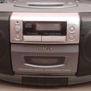 Πωλείται Φορητό Aiwa Cd/Stereo Radio Cassette Recorder CSD-EDI5