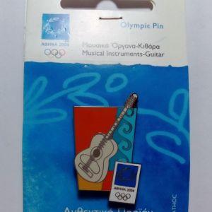 ΑΘΗΝΑ 2004 - PIN Ολυμπιακών Αγώνων (Κιθάρα)