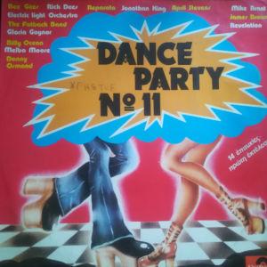 Dance party No11 - δίσκος βινυλίου με ξένα τραγούδια