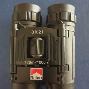 Κυάλια Simmons Marlboro Adventure Team SCL 1156 8x21 FOV 372ft Binoculars Leather Case