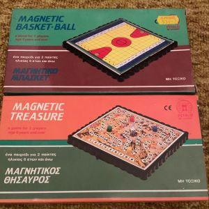 2 μαγνητικά παιχνίδια πέταλο