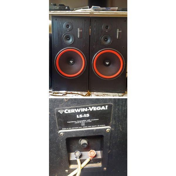ichia Cerwin Vega LS15 System 15'' 800Watts