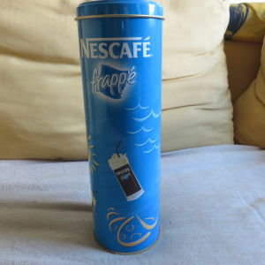 Nescafe τσιγκινο συλλεκτικο κουτακι