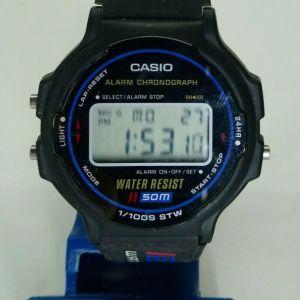 VINTAGE CASIO W-79 WATER RESIST WRIST WATCH
