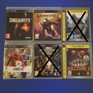 Παιχνιδια PS3 5 ευρω το καθενα