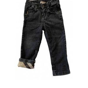 BURBERRY βρεφικό γκρι κοτλε παντελόνι. Μεγεθος: μεχρι 81 εκατοστά.