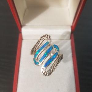 δαχτυλίδι ασημένιο 1