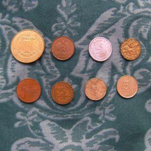 κέρματα όλα μαζι 10 ευρω