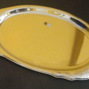 WMF αχρησιμοποίητος ανοξείδωτος δίσκος σερβιρίσματος 47x24cm σχήμα γουρούνι