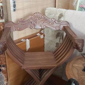 Καρεκλα χιαστί σκαλιστή
