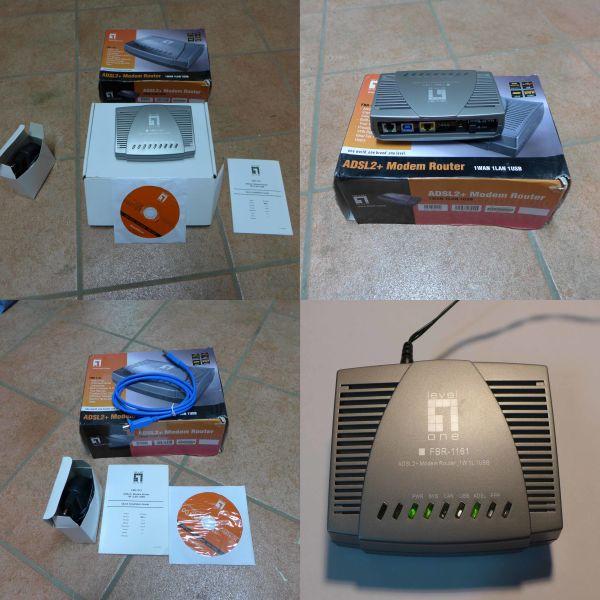LEVEL ONE FBR 1161 ADSL-2 MODEM ROUTER