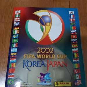 """ΣΥΛΛΕΚΤΙΚΟ ΠΕΡΙΟΔΙΚΟ ΜΕ ΑΥΤΟΚΟΛΛΗΤΑ """"2002 FIFA WORLD CUP KOREA JAPAN"""" ΟΛΟΚΛΗΡΩΜΕΝΟ (ΦΩΤΟ ΑΠΟ ΚΑΘΕ ΣΕΛΙΔΑ ΤΟΥ ΑΛΜΠΟΥΜ) ΜΟΝΑΔΙΚΟ ΟΛΟΚΛΗΡΩΜΕΝΟ ΠΟΔΟΣΦΑΙΡΟ ΣΥΛΛΕΚΤΙΚΟ - ΚΥΚΛΟΦΟΡΗΣΕ ΣΕ ΛΙΓΕΣ ΧΩΡΕΣ"""