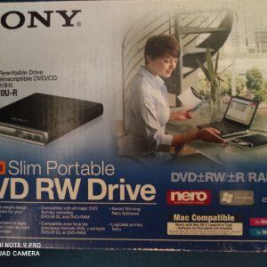 Sony Μοντέλο DRX-S70U Slim Portable Rewritable DVD / CD Optical Drive