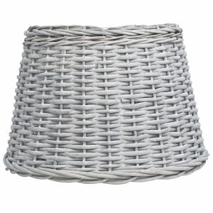 vidaXL Καπέλο Φωτιστικού Καφέ 50 x 30 εκ. από Wicker- 287615