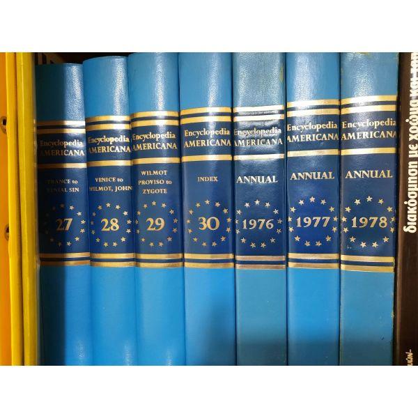 amerikaniki egkiklopedia me 33 vivlia