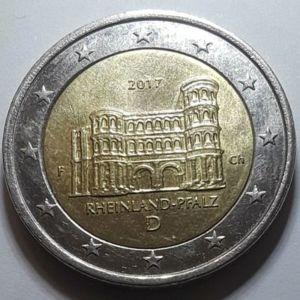 Επετειακό 2 ευρω Γερμανία 2017 RHEINLAND-PFALZ Συλλεκτικό