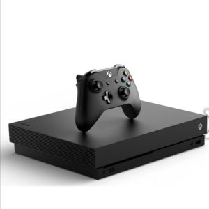 Xbox One X 1 TB μαζί με 10 παιχνιδια