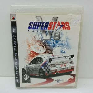 SONY PLAYSTATION 3 PS3 USED VIDEO GAME - SUPERSTARS RACING V8