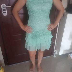 Φόρεμα δαντέλα βεραμαν