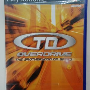 TD OVERDRIVE PS2 PLAYSTATION 2 TWO VIDEO GAME EUROPEAN PAL